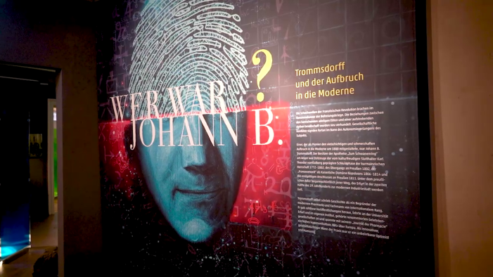 Text: Wer war Johann B.?